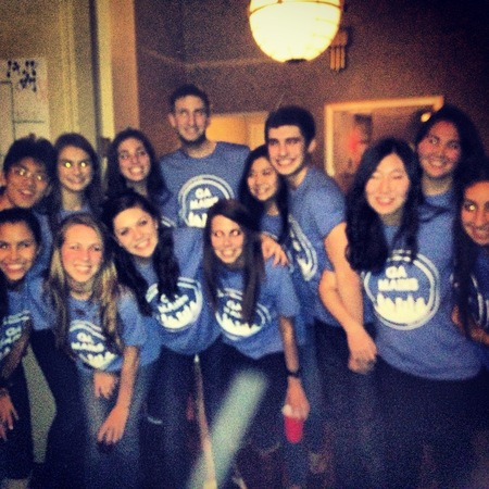 Ga Mains At Nhsmun 2013 T-Shirt Photo