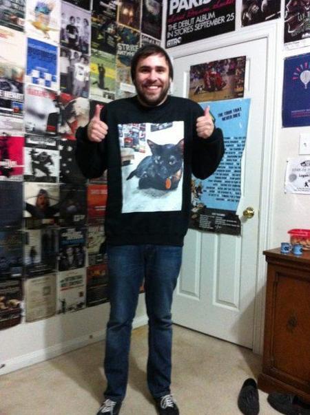 Now He Can Take Sheeni Everywhere  T-Shirt Photo