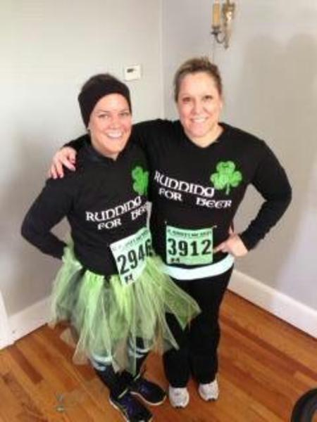 Sisters Run T-Shirt Photo