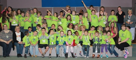 Awesome Kids Of Arts Camp T-Shirt Photo