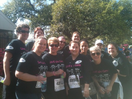Ohs Walks For A Cure. T-Shirt Photo