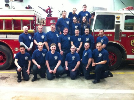 Mass Fire District 7 North Group Recruits T-Shirt Photo