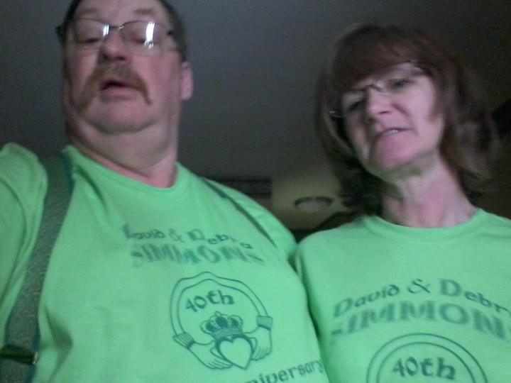 Happy 40th Anniversary T-Shirt Photo