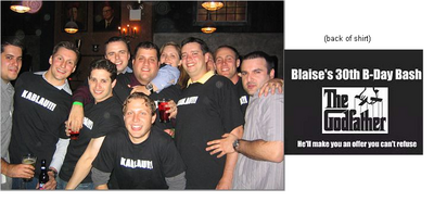Blaise's 30th B Day Bash T-Shirt Photo