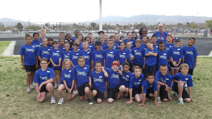 Marshall Elementary Track Team Shirts T-Shirt Photo
