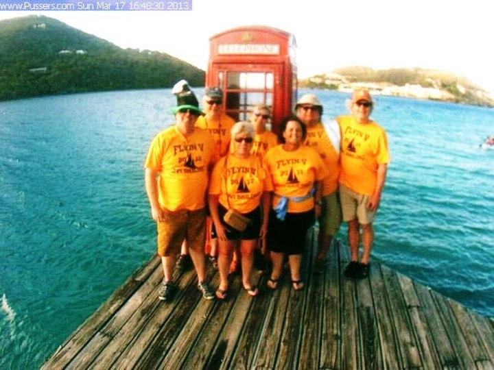 Flying V Sailing Team T-Shirt Photo