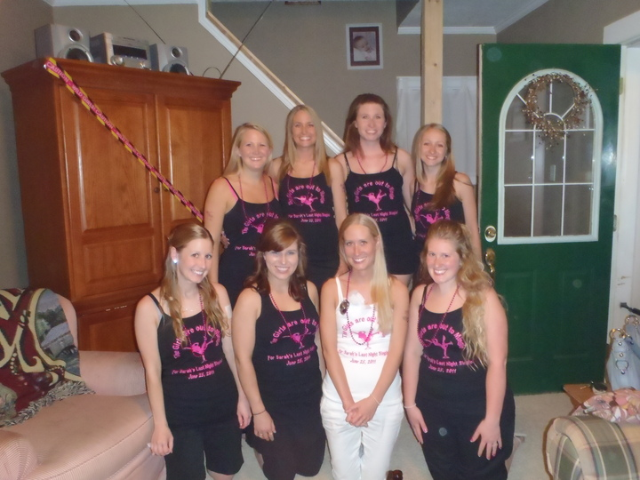 The Girls Went Out To Mingle! T-Shirt Photo