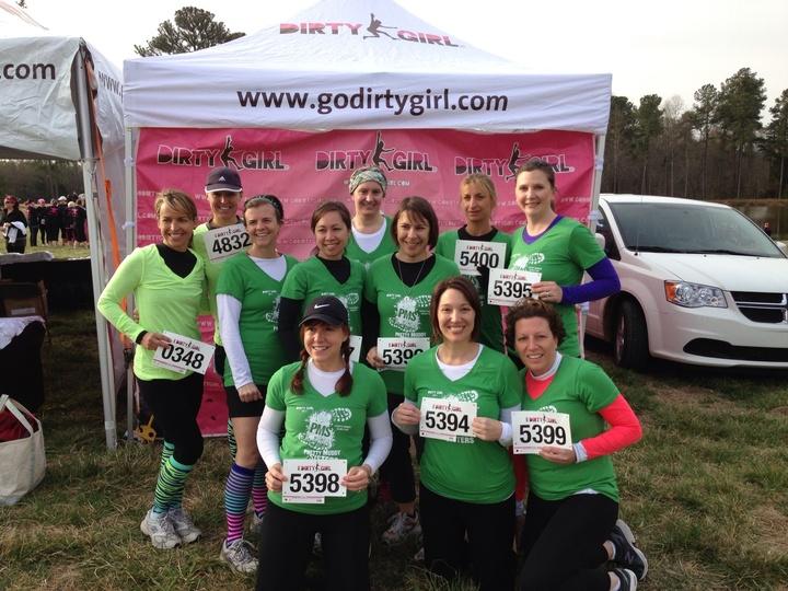 Dirty Girl Mud Run, Pretty Muddy Sisters T-Shirt Photo