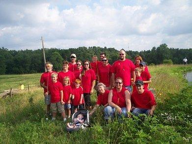 Family Fishing Tournament T-Shirt Photo