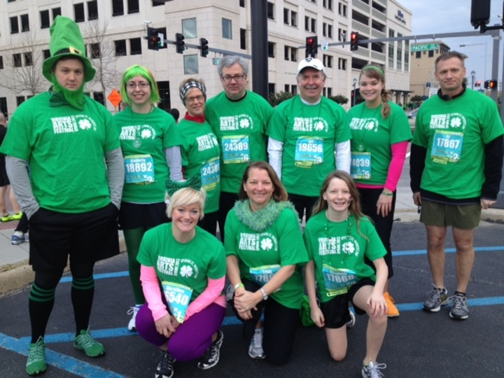 St Patty's Day 8 K T-Shirt Photo
