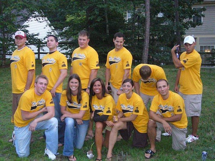 The Hoffs Coed Softball Team T-Shirt Photo