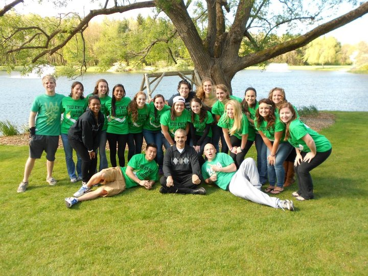 Physical Therapy Students Almost Ready To Work The Brachioradialis Out!  T-Shirt Photo
