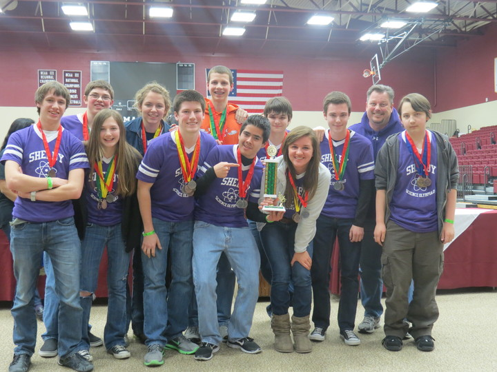 Shelby High School Science Olympiad Team T-Shirt Photo