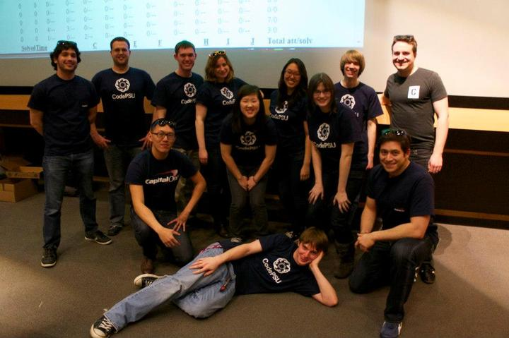Code Psu With Capital One T-Shirt Photo