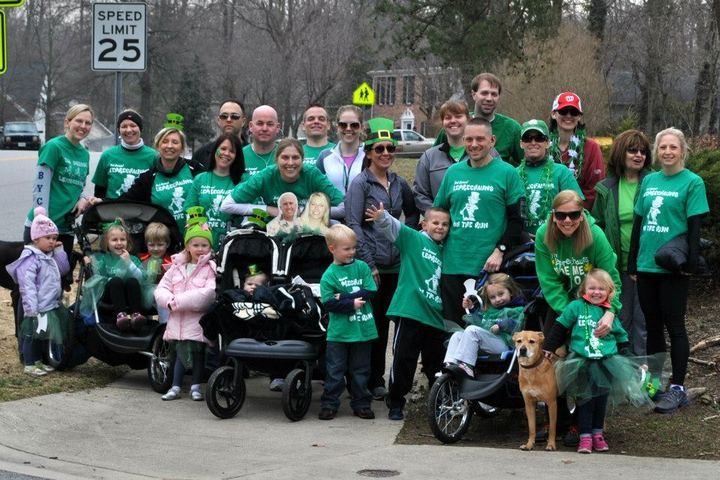 Leprechauns On The Run T-Shirt Photo