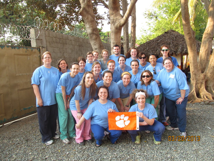 Clemson University School Of Nursing Dr Team 2013  T-Shirt Photo