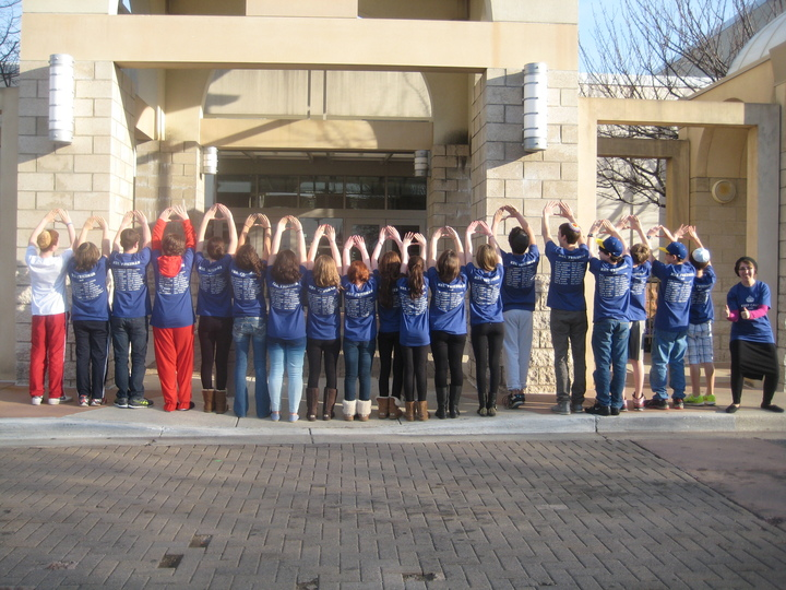 "Students ""Yolo"" Sign!  T-Shirt Photo"