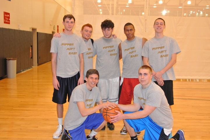 Temple University Intramural Basketball Champs T-Shirt Photo