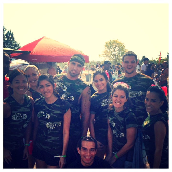 5 Mile Mud Run Challenge T-Shirt Photo