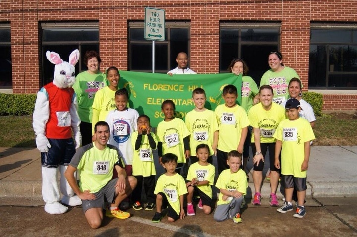 Bronco Running Clubs Wins Largest School Group! T-Shirt Photo