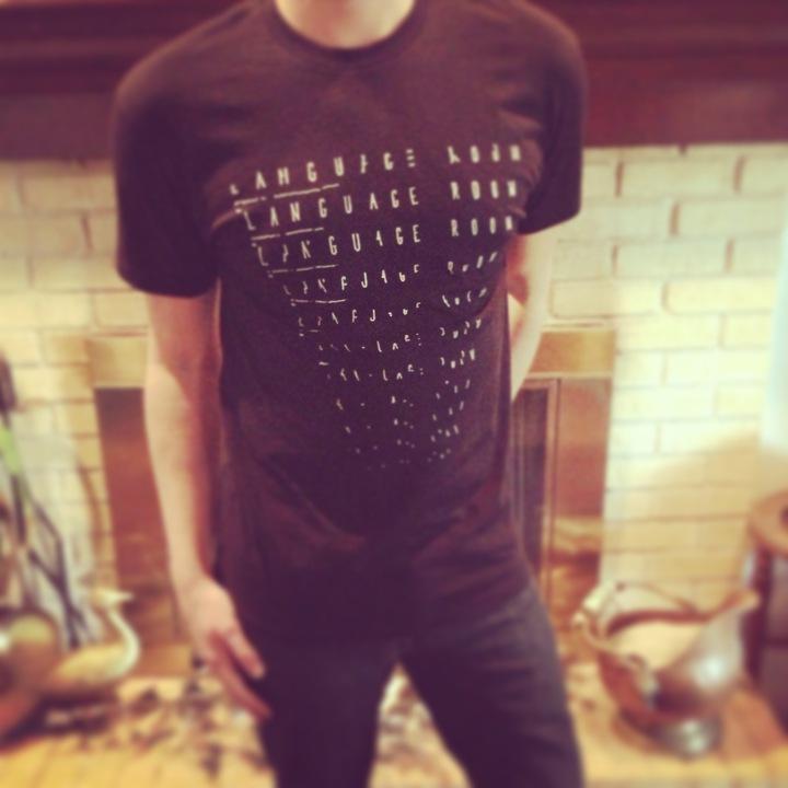 Language Room T-Shirt Photo