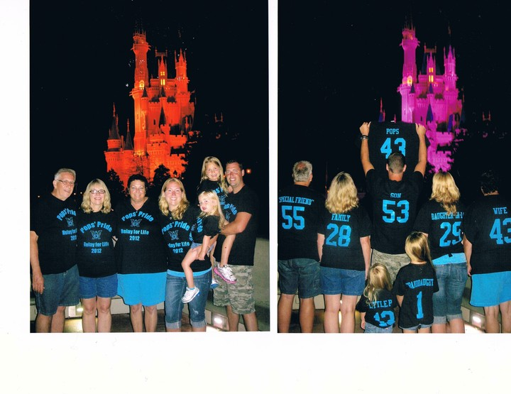 Pops' Pride   Forever In Our Hearts   Relay For Life T-Shirt Photo