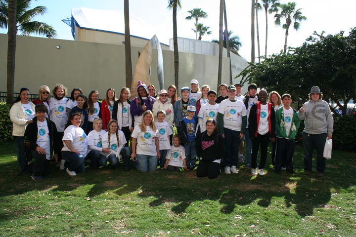 Palm Beach County Walk For Autism 2013 T-Shirt Photo