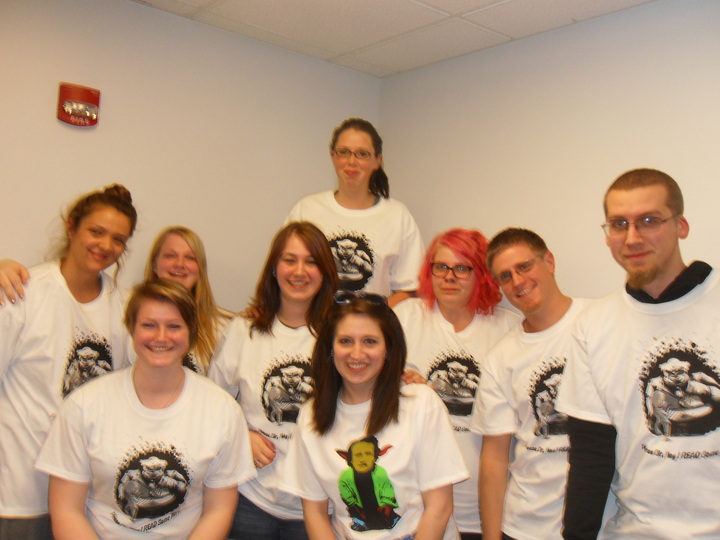 "Fpu English Majors ""Read Some More"" T-Shirt Photo"