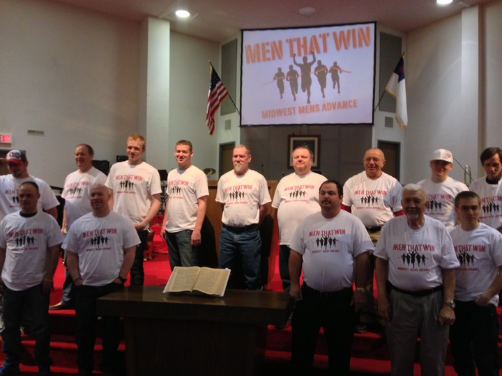 Men That Win T-Shirt Photo