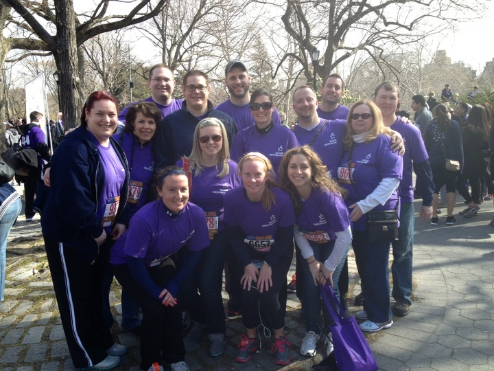 Colon Cancer Challenge Team Photo 2013 T-Shirt Photo