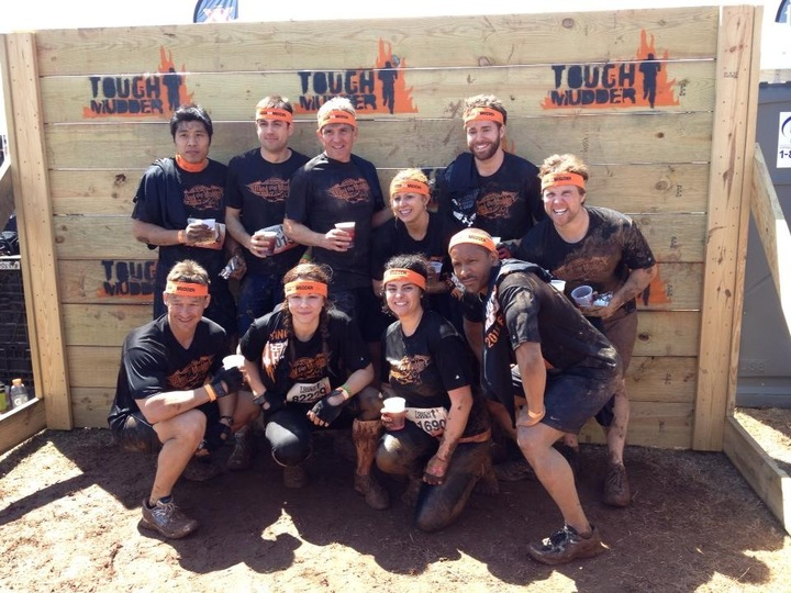 Afterwards   The Shirts Rocked, And We Looked Awesome!  T-Shirt Photo