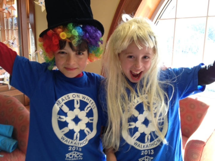 Excitement Abounds For The Meals On Wheels Walkathon T-Shirt Photo