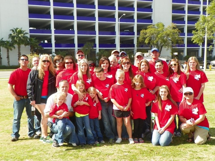 "Team ""Chillin' With Dylan"" At The Autism Walk T-Shirt Photo"