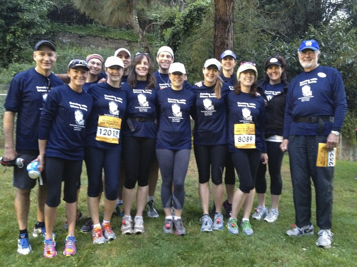"""Running With Steve Ruddy"" T-Shirt Photo"