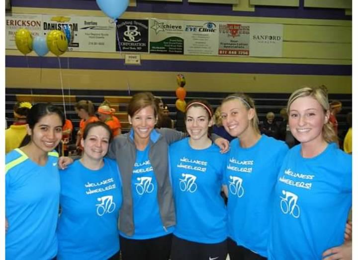 Wellness Wheelers Are Winners! T-Shirt Photo
