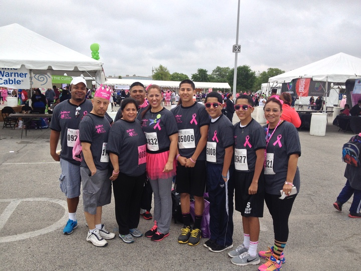 We Are The Cure 13' ( Komen Walk ) T-Shirt Photo