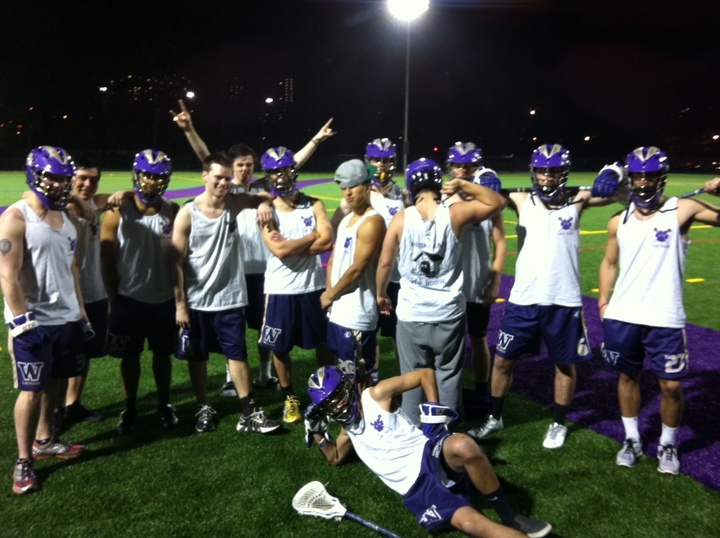 Uw Lacrosse Tanks T-Shirt Photo