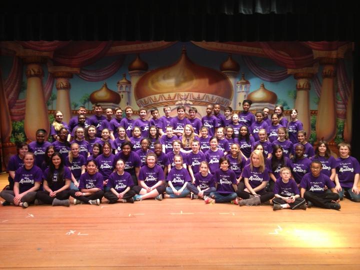 Wrms Aladdin Jr. Cast And Crew T-Shirt Photo