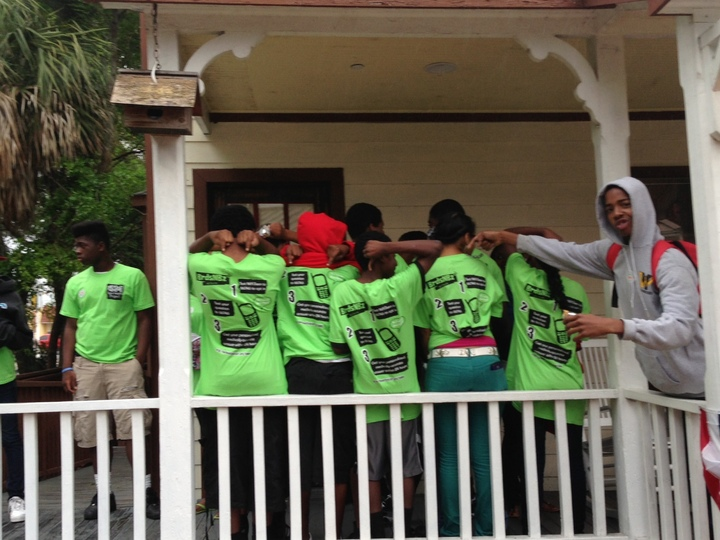 Nefl Teens In St. Augustine T-Shirt Photo