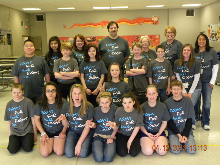 West Middle School 7th Grade G2 Diabetes Awareness  T-Shirt Photo