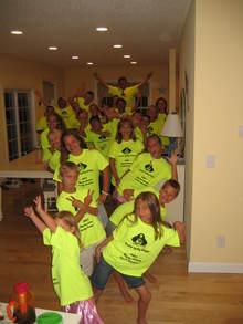 Family At Myrtle Beach South Carolina T-Shirt Photo