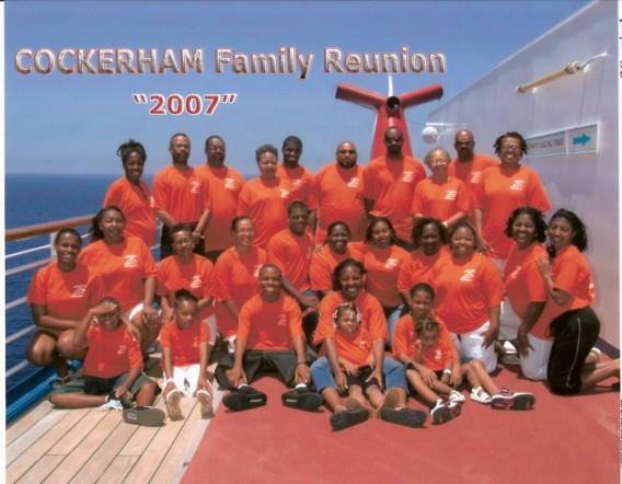 Custom T Shirts For Cockerham Family Reunion 2007 Shirt Design Ideas