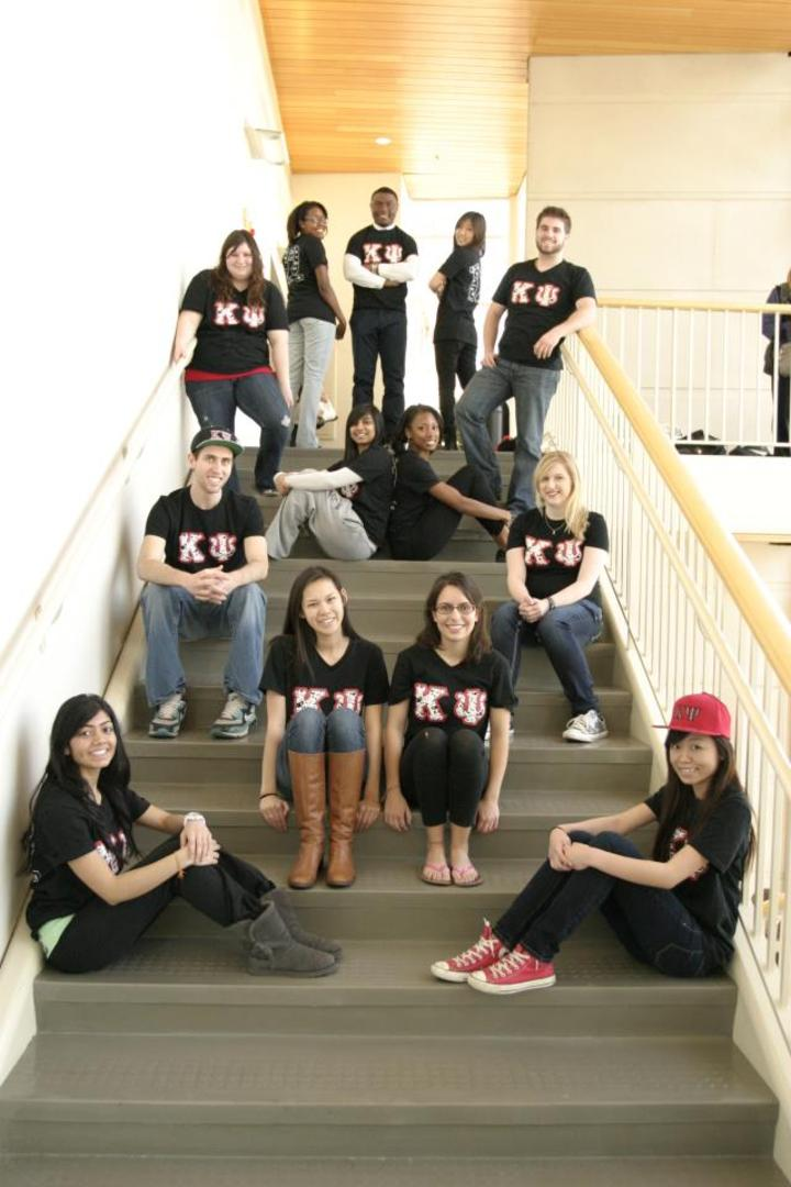 Kappa Psi Pc 12 Lookin' Fierce In Their New Shirts T-Shirt Photo