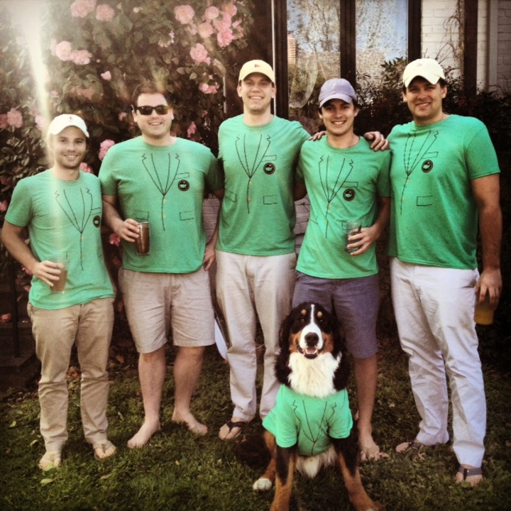 Masters Saturday  Green Jacket T Shirts T-Shirt Photo
