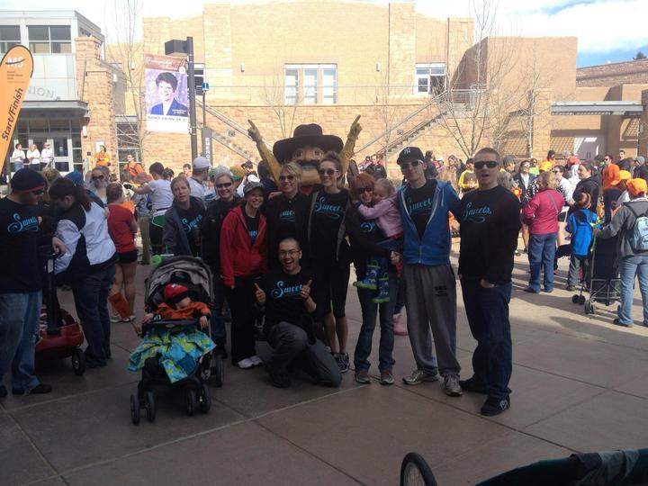 The Sweets Team   Laramie Wyoming Walk Ms  T-Shirt Photo