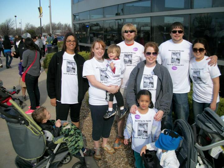 Marching For Kendel T-Shirt Photo