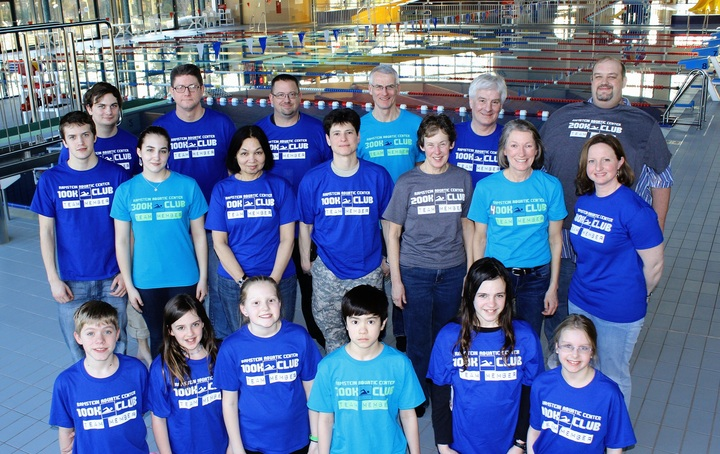 Ramstein Aquatic Center Swim Challenge T-Shirt Photo