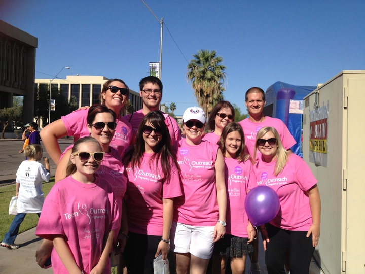March For Babies, Team Tops T-Shirt Photo