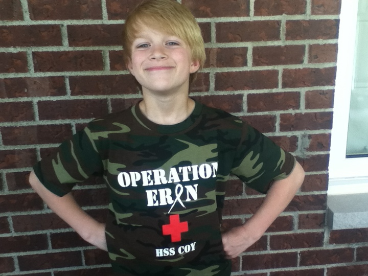 Proud Member Of Team Operation Erin T-Shirt Photo
