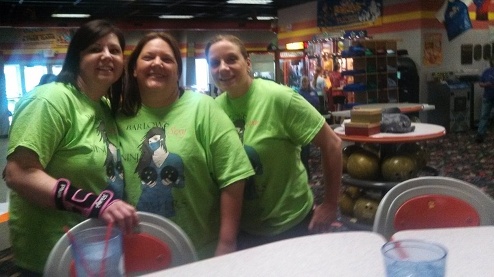 Sexy Ninja Bowlers! T-Shirt Photo
